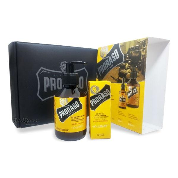 Набор для ухода за бородой Proraso SPECIAL BEARD CARE SET Wood & Spice