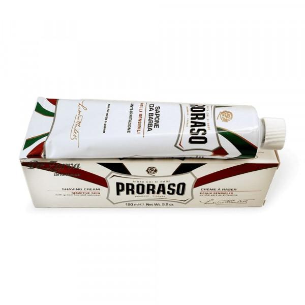 Крем для бритья Proraso для чувствительной кожи WHITE LINE SHAVING 150 мл
