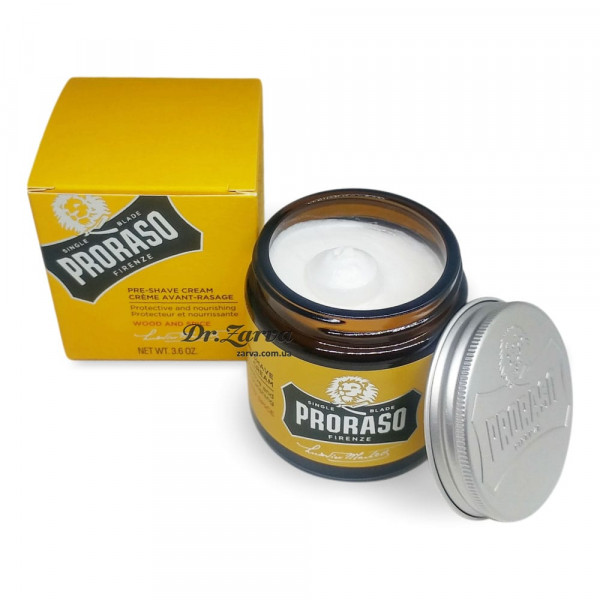 Крем до бритья Proraso WOOD & SPICE Pre-Shave Cream 100 мл