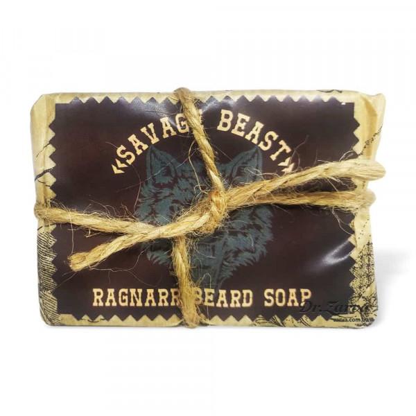 Солевое мыло для лица и бороды Ragnarr SAVAGE BEAST 100 г