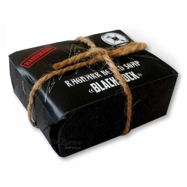 Угольное мыло для лица и бороды Ragnarr Beard Soap BLACKROCK 100 г