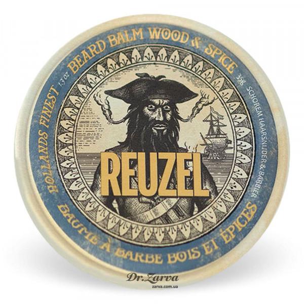 Бальзам для бороды Reuzel WOOD & SPICE Beard Balm 35 мл