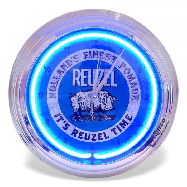 Настенные часы Reuzel BLUE CLOCK