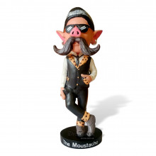 Колекційна статуетка Reuzel MOUSTACHE BOBBLE HEAD