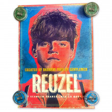Плакат Reuzel Poster НОВАЯ ШКОЛА - (двусторонний) 50,5*71