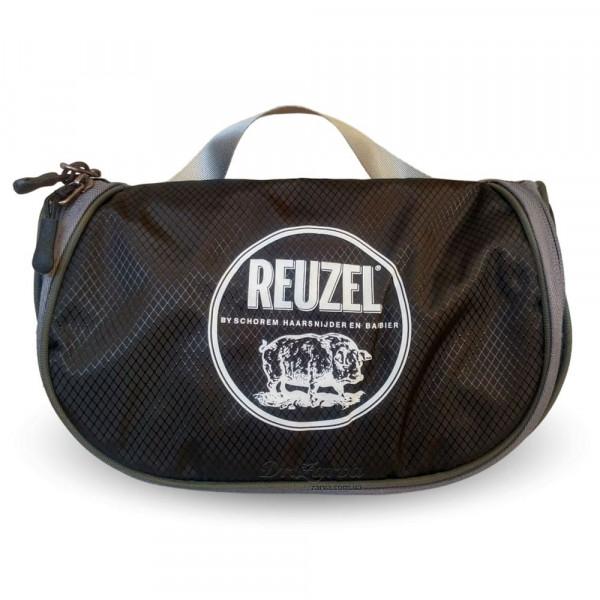 Набор для укладки и ухода за волосами Reuzel Pigs Can Fly Dopp Bag CLAY MATTE в фирменном несессере