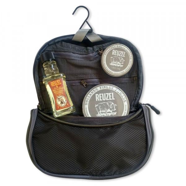 Набор для укладки и ухода за волосами Reuzel Pigs Can Fly Dopp Bag EXTREME HOLD в фирменном несессере