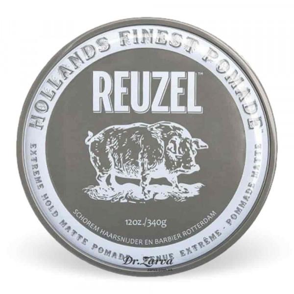Помада для укладки волос Reuzel MATTE Pomade Extreme Hold 340 мл