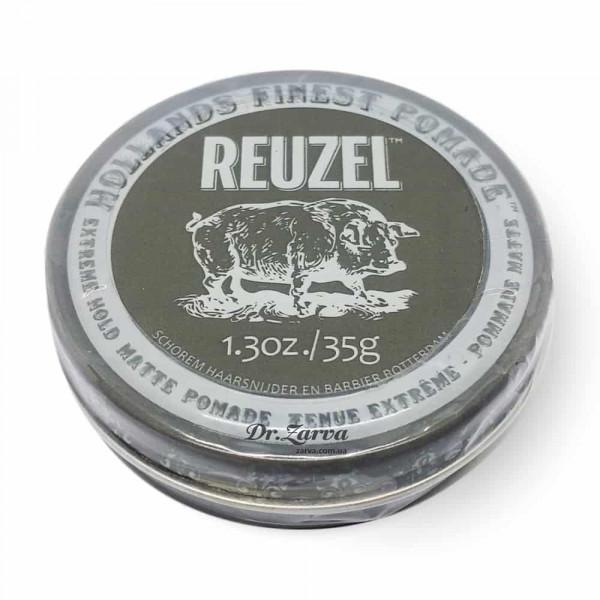 Помада для укладки волос Reuzel MATTE Pomade Extreme Hold 35 мл