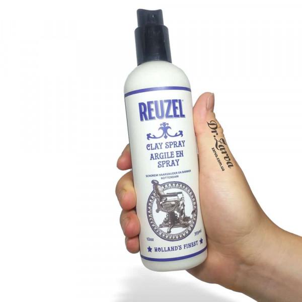 Спрей для текстуры волос Reuzel CLAY SPRAY с каолиновой глиной 355 мл