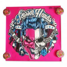 Плакат Scissor Hands ORIGINAL 70*70 см