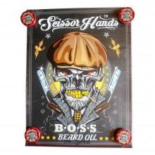 Плакат Scissor Hands BOSS 80*60 см