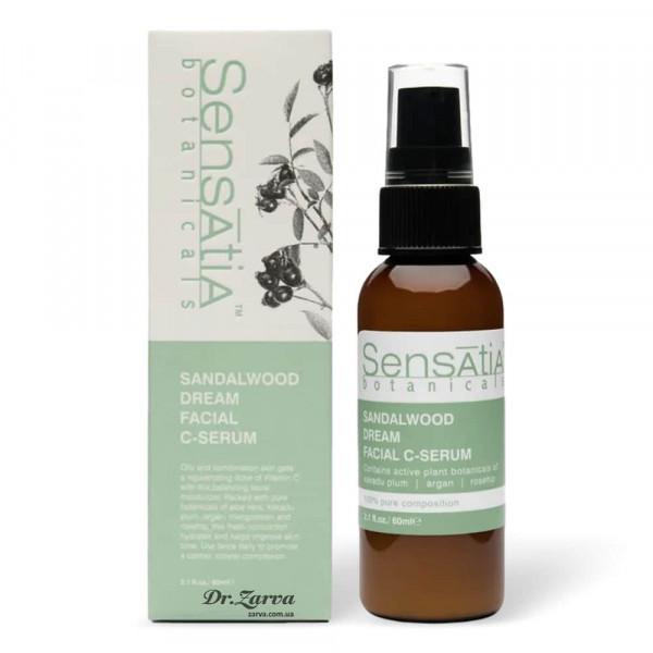 Крем-сыворотка для лица Sensatia Botanicals SANDALWOOD DREAM FACIAL C-SERUM 60 мл