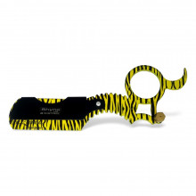 Опасная бритва со сменными лезвиями (шаветта) желтая Shyne UK - SHAVING RING RAZOR (Finger Razor)