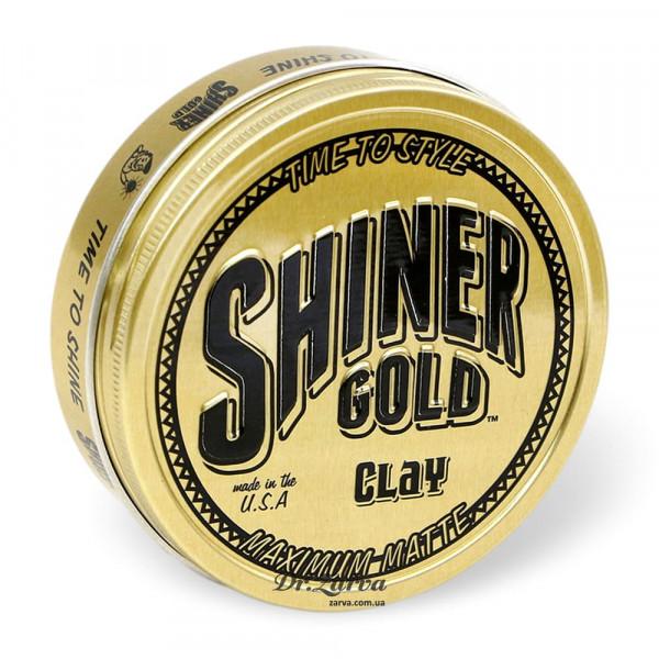 Глина для укладки волос Shiner Gold MATTE CLAY 113 мл