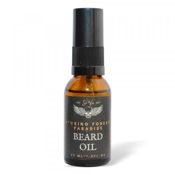 Масло для бороды Sova F*CKING FOREST PARADISE Beard Oil 30 мл