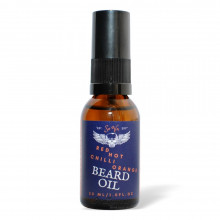 Олія для бороди Sova RED HOT CHILI ORANGE Beard Oil 30 мл