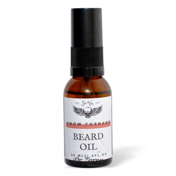 Масло для бороды Sova SNOW TORNADO Beard Oil 30 мл