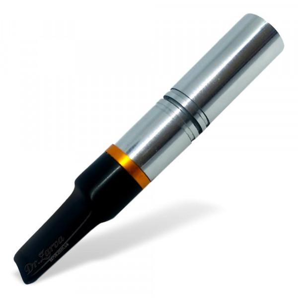 Мундштук для сигарет короткий металлический (под классический фильтр сигарет)