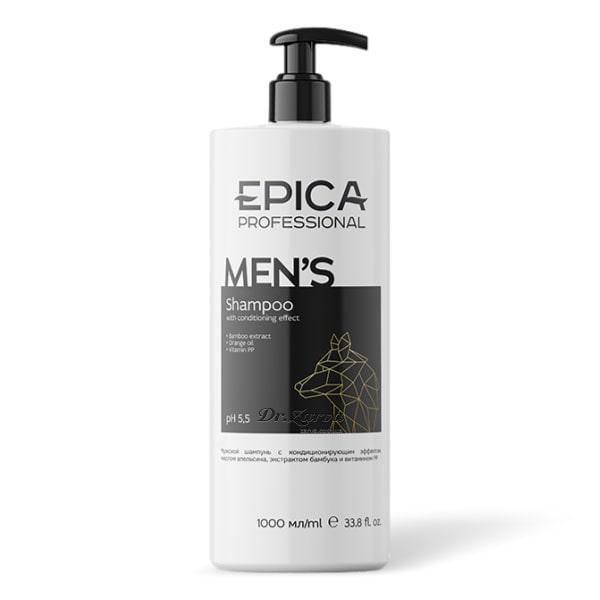 Шампунь Epica Professional For Men с кондиционирующим эффектом 1000 мл